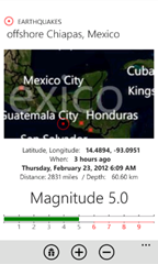 Wp7EarthquakeLight
